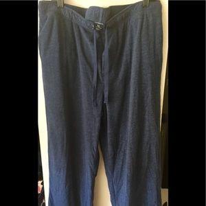Croft & Barrow Navy Blue Sleep Pants XL